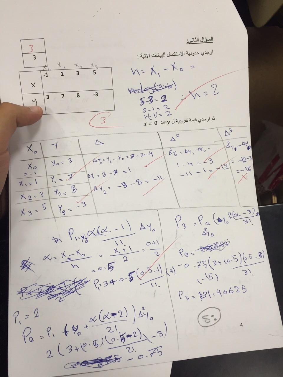 تحليل عددي